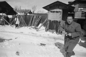 「秋田-飯田川」1957年2月14日
