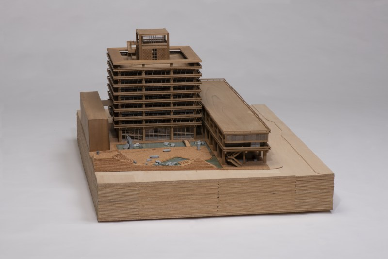 丹下健三計画研究室《香川県庁舎(1958年)模型》2013年